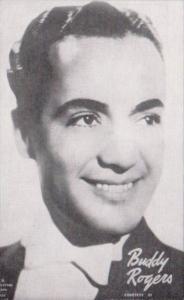 Vintage Arcade Card Buddy Rogers