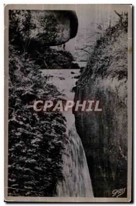 Huelgoat - The Chasm - Old Postcard