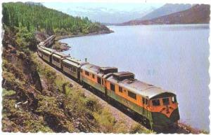 White Pass & Yukon Route Train, Skagway, Alaska to Whitehorse Yukon, 1982