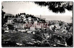 Menton - Vue Generale - Old Postcard