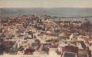 Vue De La Haute-Ville Et Des Terrasses Mauresques, Alger, Algeria, Africa, 19...