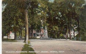 MYSTIC , Connecticut , 1909 ; Soldier's Monument