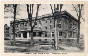 Farmington, Maine, South Hall, State Normal School
