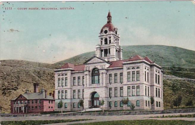 Montana Anaconda Court House