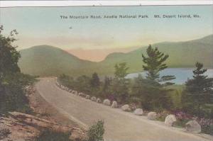 Maine Mt Desert Isand The Mountain Road Acadia National Park Albertype