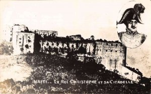 Haiti Le Roi Christophe Citadelle Fort Castle Real Photo Postcard AA29901