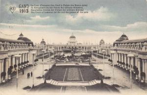 Vintage 1913 Postcard GHENT Gent International Exhibition BELGIUM