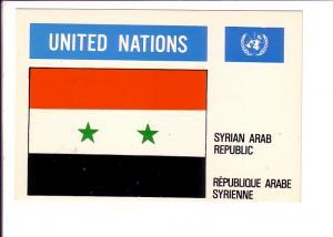 Syrian Arab Republic, Flag, United Nations