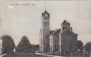Town Hall, PETROLEA, Ontario, Canada, PU-1903