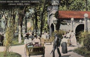 CEDAR POINT , Ohio , 00-10s ; Sight-Seers Rest , Crystal Cave