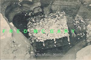 1909 Manitou Springs CO PC: Business Card Room, Cave of The Winds