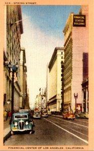 California Los Angeles Financial Center Spring Street