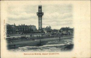 Great Yarmouth UK Revolving Tower c1910 Postcard