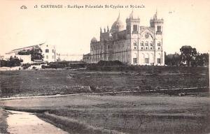 Carthage Africa, Afrika Basilique Primatiale St Cyprien et St Lou's Carthage ...