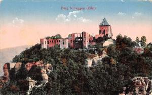 Burg Nideggen Eifel Chateau Castle General view