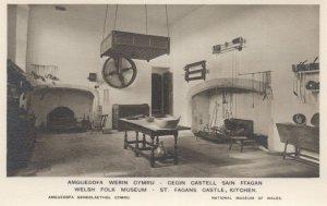 Welsh Folk Museum St. Fagans Castle Kitchen Mint Postcard