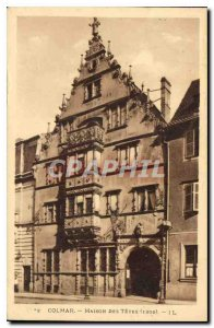 Old Postcard Colmar Quatorze
