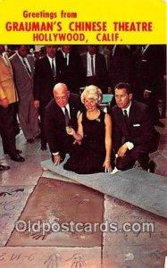 Doris Day Movie Actor / Actress Grauman's Chinese Theatre, Hollywood, CA, USA...