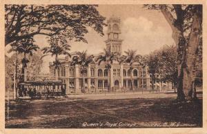 Trinidad British West Indies Queen's Royal Cottage Antique Postcard J74306