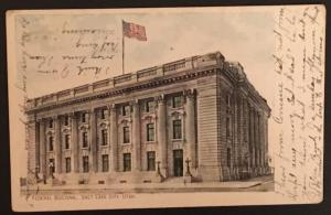 Federal Building Salt Lake City Utah Moon Book & Stat Co 103