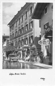 Lofer Hotel Brau, Auto Vintage Car, Street Shops Promenade Gasthaus Pension