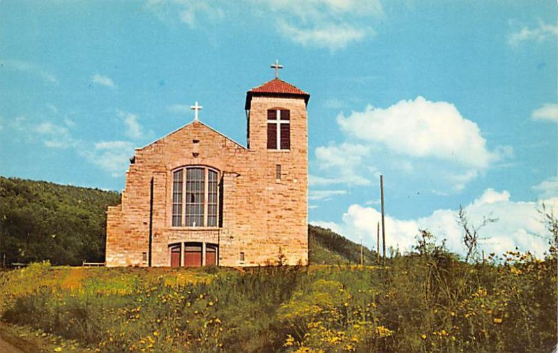 St. Joseph's Mission Mescalero Reservation, New Mexico NM