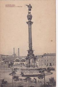 Monumento A Colon, Barcelona (Catalonia), Spain, 1900-1910s