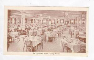 Interior,La Louisiane Dining Room,New Orleans,LA / Louisiana 1920-30s