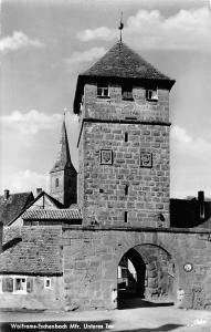 Wolframs Eschenbach Mfr. Unteres Tor Gate