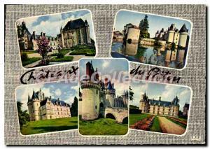 Postcard Modern Castles of Poitou Toullou