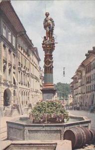 Switzerland Bern Gerechtigkeitsbrunnen Fontaine de la Justice