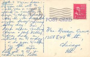 Nantucket Massachusetts~Main Street West~Shops~Horse Trough~1948 Linen PC