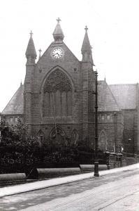 Vintage Reproduction Postcard c1910, Ebenezer Methodist Chapel, Barnsley H75