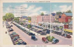 Massachusetts Brockton Y M And Y W H A Community Center Legion Parkway 1940