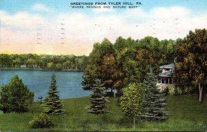 Pennsylvania Greetings From Tyler Hill 1941