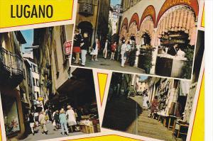 Switzerland Lugano Multi Street Scenes