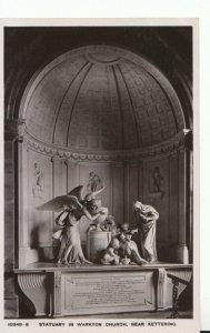 Northamptonshire Postcard - Statuary - In Warkton Church - Kettering - TZ1109