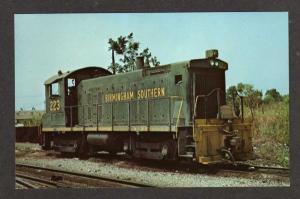 AL Birmingham Southern Railroad Train FAIRFIELD ALABAMA