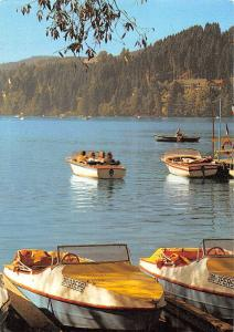 Am Titisee Schiff Boats Bateaux Lake Forest