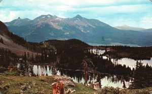 near Telluride, Colorado, CO, Alta Lakes, Chrome Vintage Postcard g8372