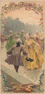 AS; MAURICE LELAIN, 1890s TC; Chocolat Du Planteur, Song on back, Dancers