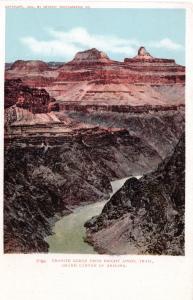 Granite Gorge from Bright Angel Trail, Grand Canyon of Arizona, pre-1907