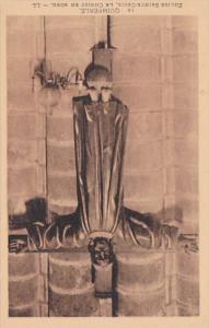 France Quimperle Eglise Sainte-Croix Le Christ En Robe