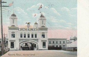 REVERE BEACH, Massachusetts, 1914 ; WONDERLAND
