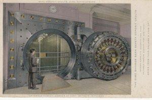 DETROIT , Michigan, 1900-10s ; Vault , Dime Savings Bank