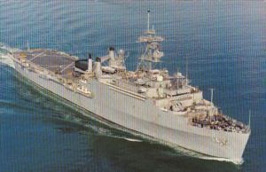 U S S Trenton (LPD-14) Amphibious Transport Dock