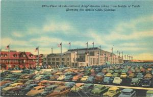 1940s Chicago Illinois View International Amphitheater Sirloin Teich 9257