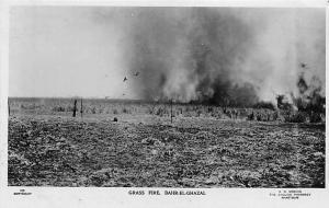 Sudan Grass Fire, Bahr-El-Ghazal