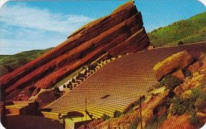 Colorado Denver Mountain Parks Famoues Red Rocks Theatre