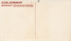 COLOMBIA , 1950s ; Braniff International